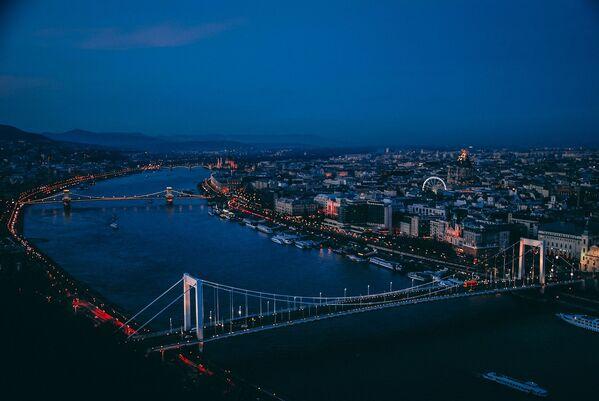 Rzeka Dunaj w Budapeszcie - Sputnik Polska