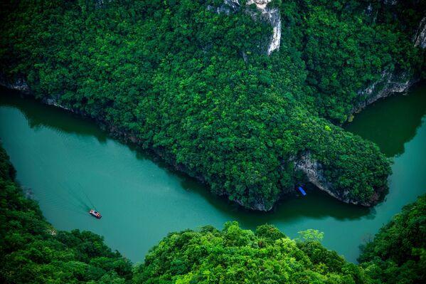 Rzeka w Chinach - Sputnik Polska
