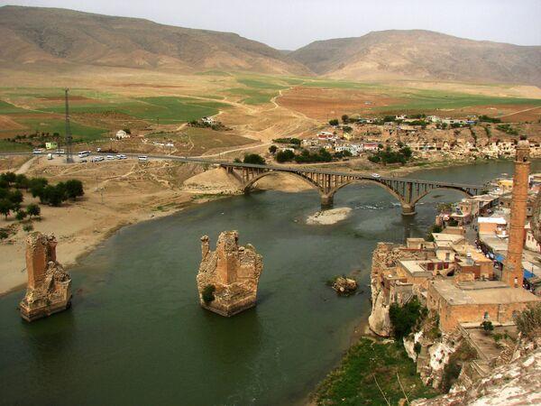 Rzeka Tygrys,  jedna z dwóch największych rzek Mezopotamii - Sputnik Polska