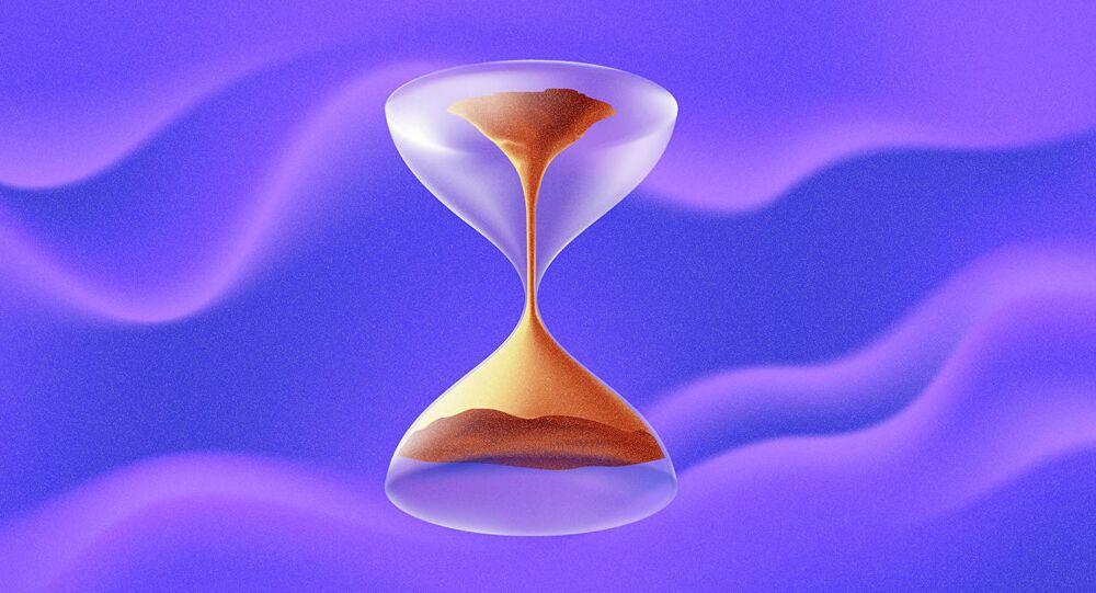 Upływ czasu, klepsydra