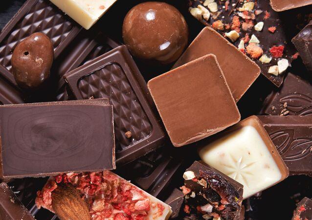 Czekolada, kawałki czekolady