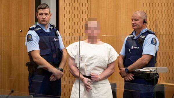 Brenton Tarrant, oskarżony o przeprowadzenie ataków na meczety w Nowej Zelandii - Sputnik Polska