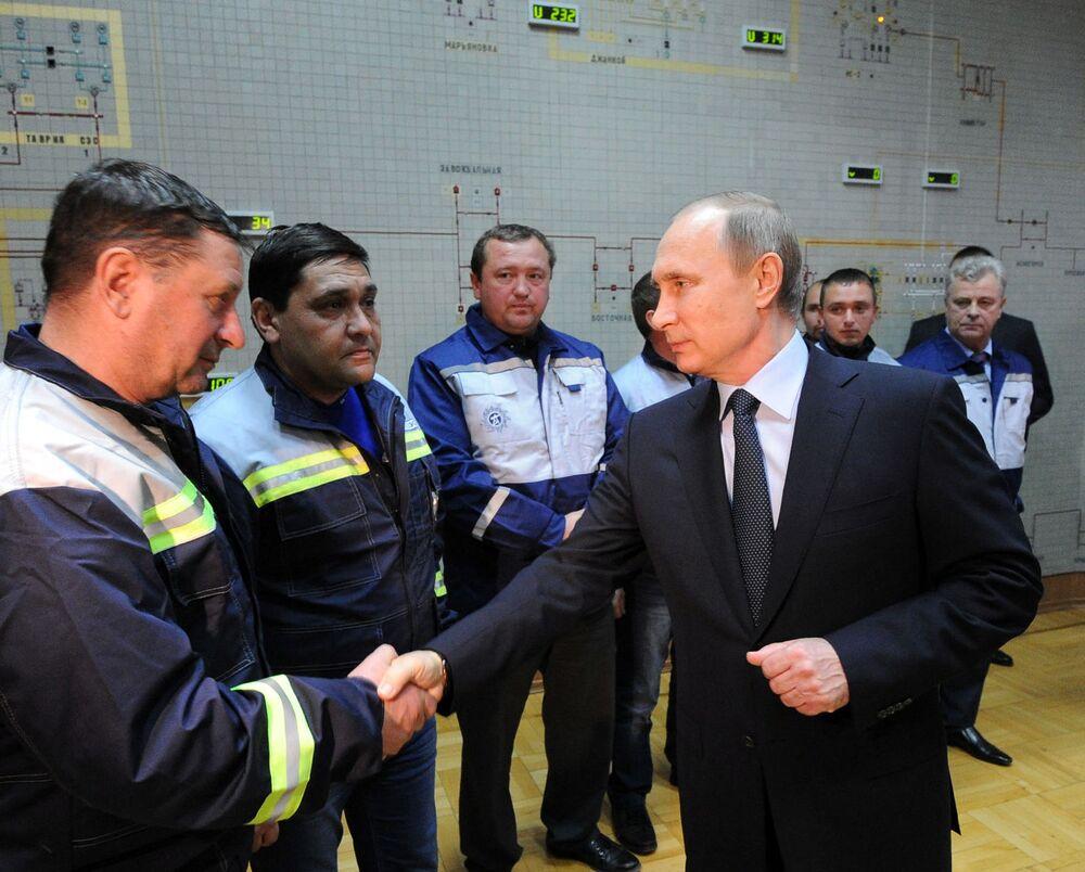 Uruchomienie pierwszej elektrociepłowni na Krymie