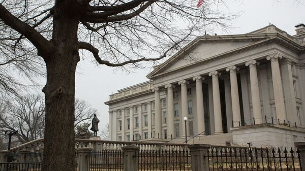 Departament Skarbu w Waszyngtonie - Sputnik Polska
