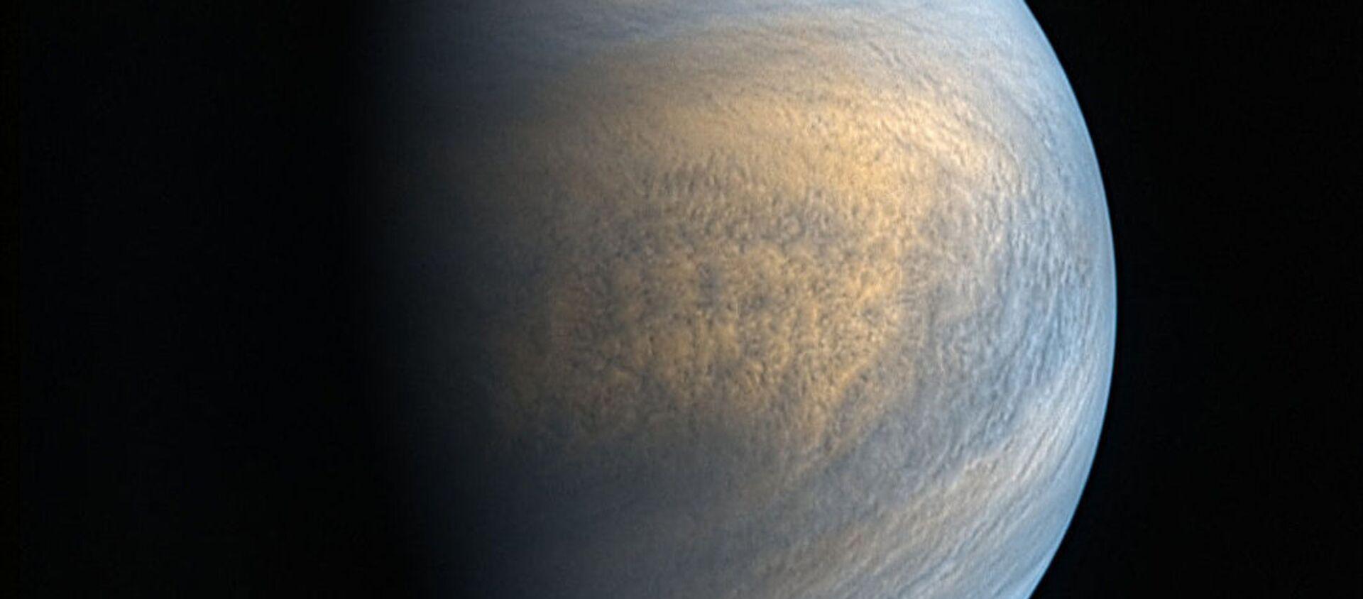 Zdjęcie Wenus w zakresie optycznym i ultrafioletowym wykonane przez kamery sondy Akatsuki - Sputnik Polska, 1920, 16.09.2020