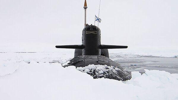 Okręt atomowa o napędzie jądrowym - Sputnik Polska