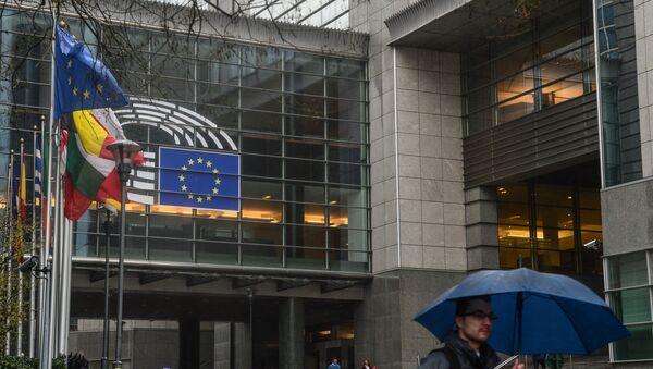 Budynek Parlamentu Europejskiego w Brukseli - Sputnik Polska
