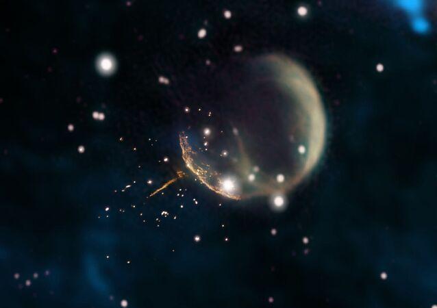 """""""Martwa gwiazda"""" ucieknie z naszej galaktyki"""