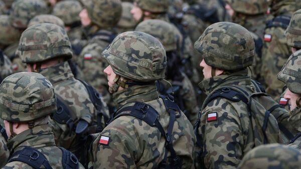 Polscy żołnierze. Zdjęcie archiwalne - Sputnik Polska