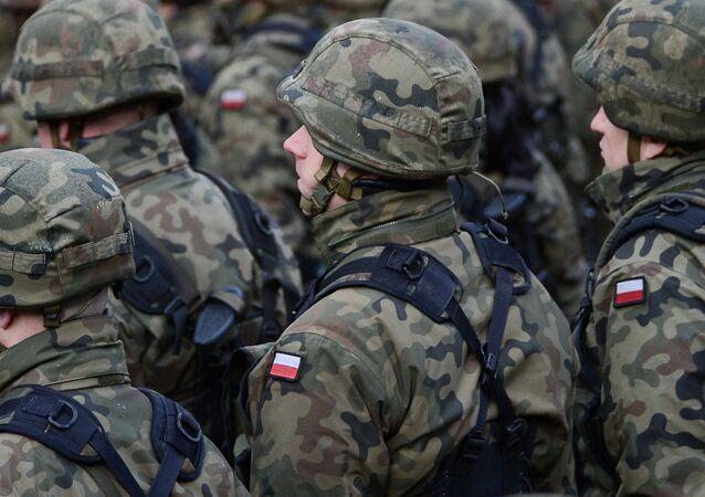 Polscy żołnierze. Zdjęcie archiwalne