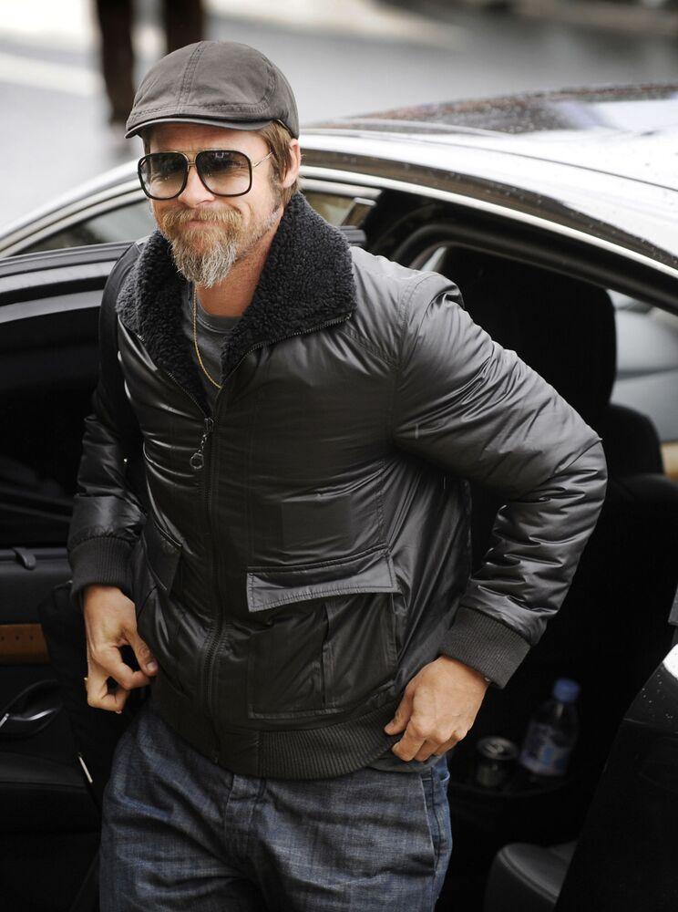 Amerykański aktor Brad Pitt