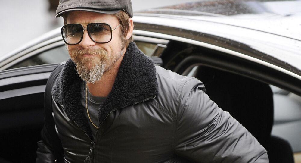 Aktor amerykański Brad Pitt