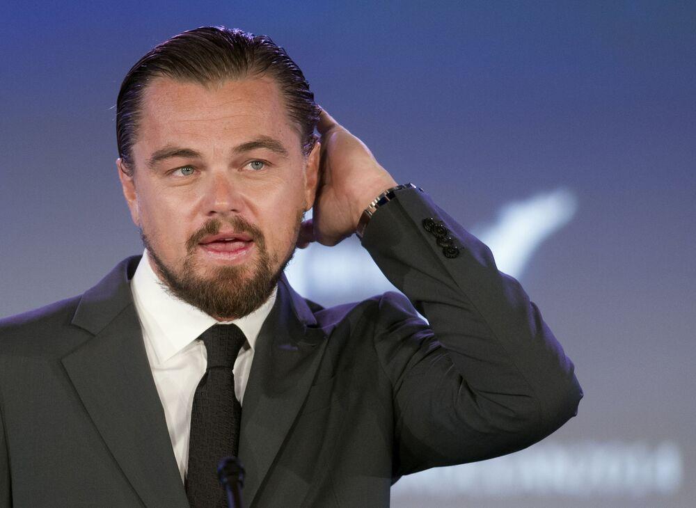 Amerykański aktor Leonardo DiCaprio