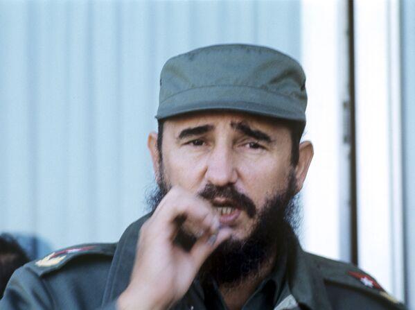Premier Republiki Kuby Fidel Castro, 1974 r. - Sputnik Polska