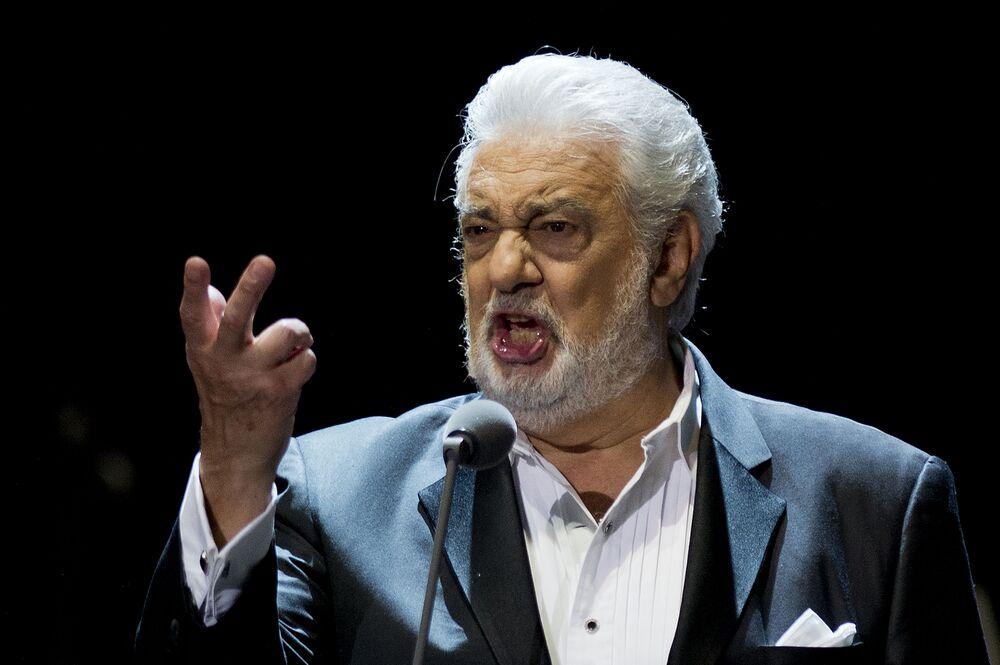 Tenor hiszpański Plácido Domingo
