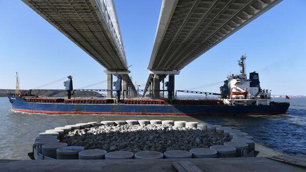 Budowa Mostu Krymskiego - Sputnik Polska