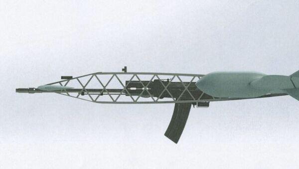 Projekt drona przechwytującego rosyjskiego koncernu Almaz-Antej - Sputnik Polska