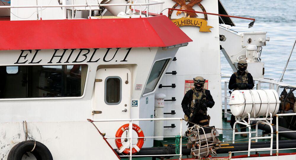 Statek handlowy Elhiblu 1 przybył do miasta Senglea na Malcie