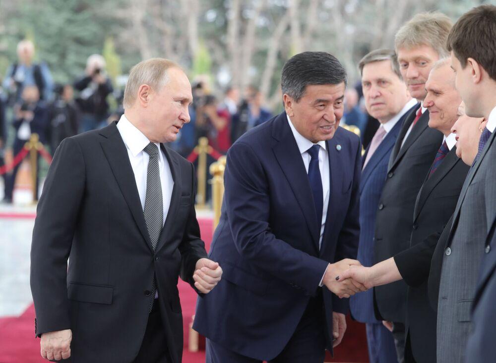 Wizyta Władimira Putina w Biszkeku