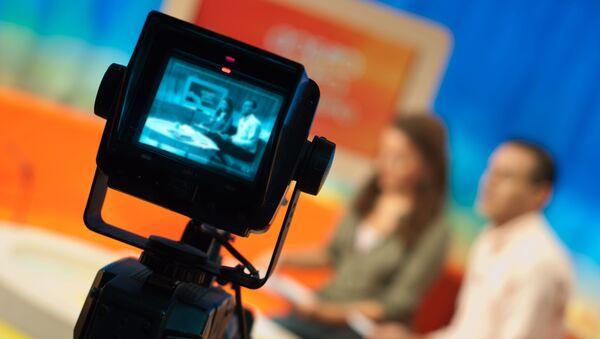 Nagrywanie programu telewizyjnego - Sputnik Polska