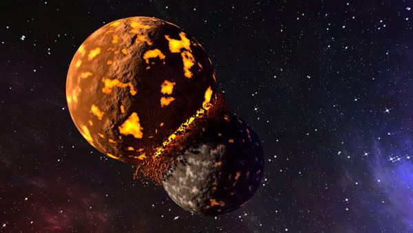 Zderzenie planet - Sputnik Polska