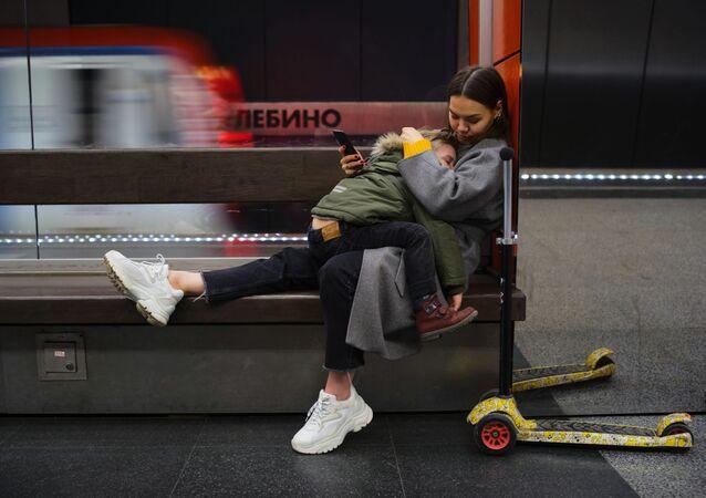Na stacji Żulebino moskiewskiego metra
