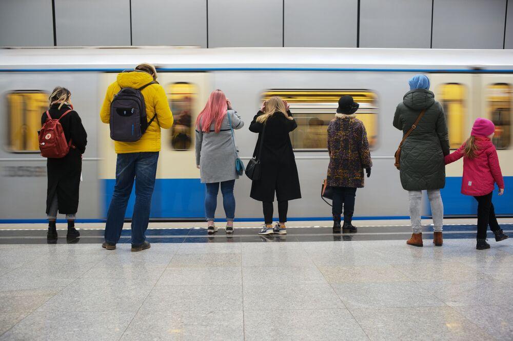 Stacja Ramenki moskiewskiego metra