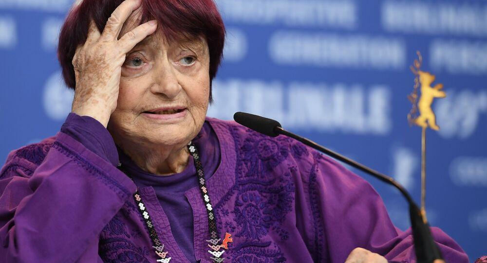 Reżyserka Agnes Varda