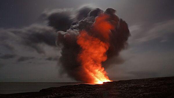Erupcja wulkanu - Sputnik Polska