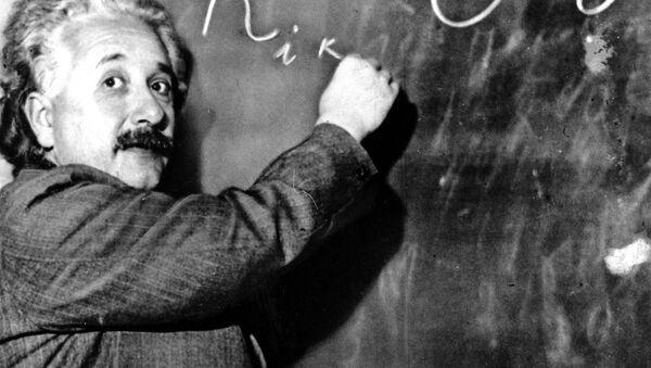 Fizyk Albert Einstein - Sputnik Polska