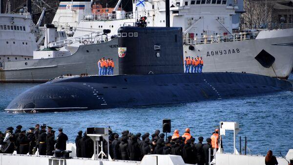 Okręt podwodny Nowogród Wielki - Sputnik Polska