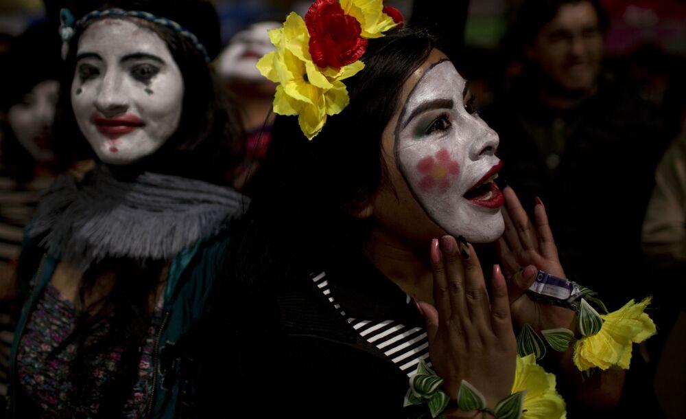 """""""Godzina dla Ziemi"""" w Boliwii."""