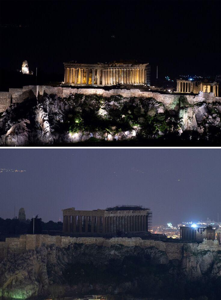 """""""Godzina dla Ziemi"""" w Grecji."""