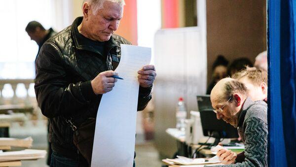 Wybory prezydenckie na Ukrainie - Sputnik Polska