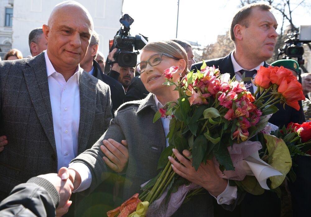 Kandydat na prezydenta Ukrainy Julia Tymoszenko