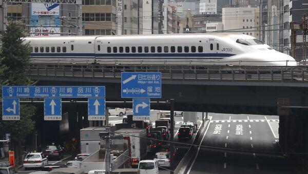 Pociąg w Japonii - Sputnik Polska