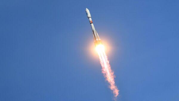 Start akiety Sojuz-2.1a  - Sputnik Polska