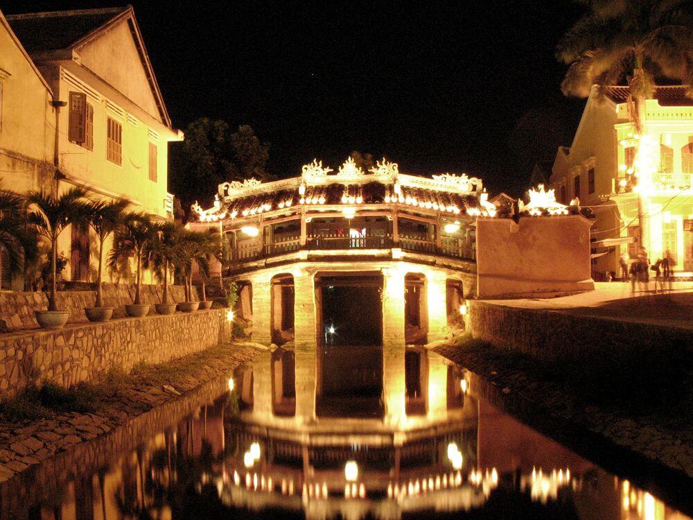 Most japoński we wietnamkim mieście Hội An