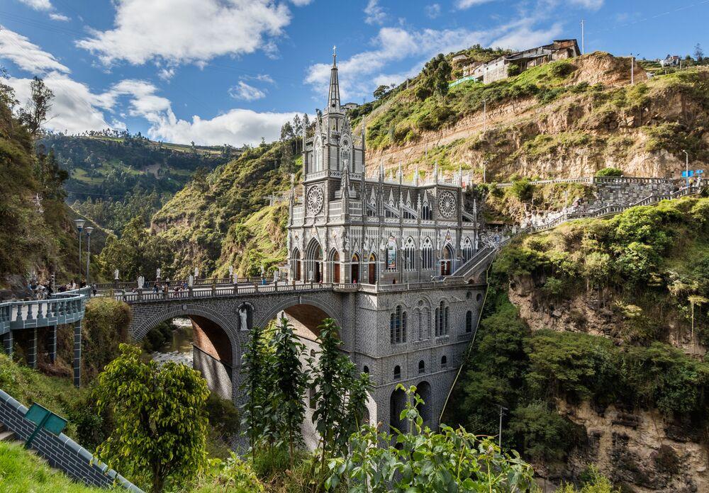 Bazylika Las Lajas w Kolumbii