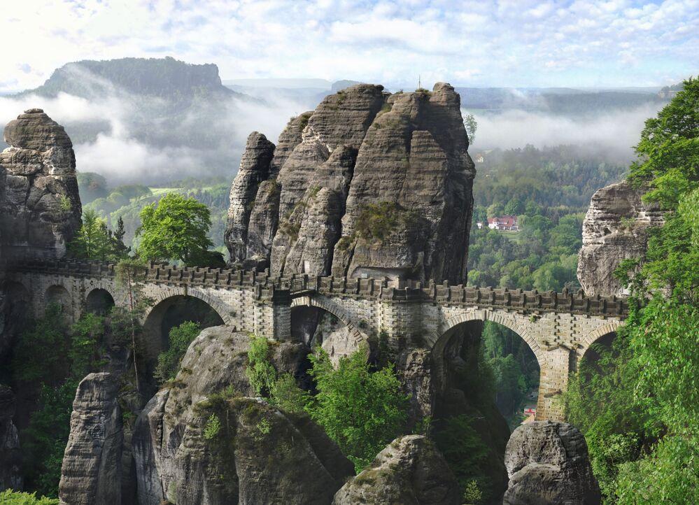 Most Bastei w Niemczech