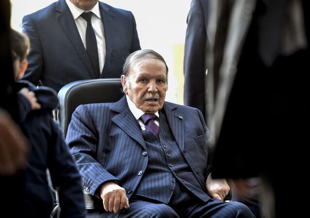 Algierski prezydent Abdelaziz Bouteflika