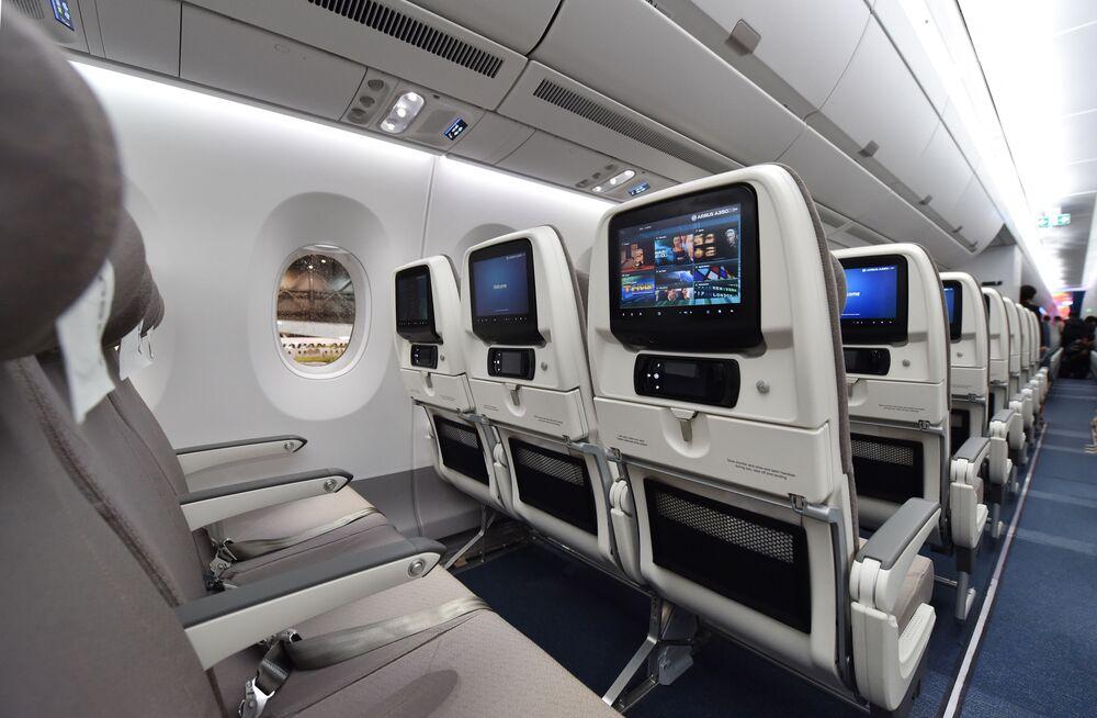 Samolot Airbus A350 XWB japońskich linii lotniczych Japan Airlines (JAL)