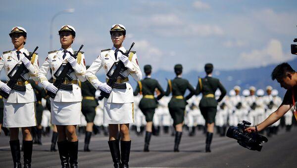 Parada wojskowa w Pekinie - Sputnik Polska