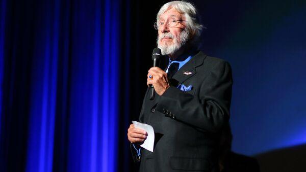 Francuski badacz i rzecznik środowiska i  obrońca środowiska Jean-Michel Cousteau  - Sputnik Polska