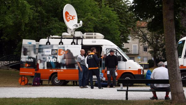 Samochód ZDF - Sputnik Polska