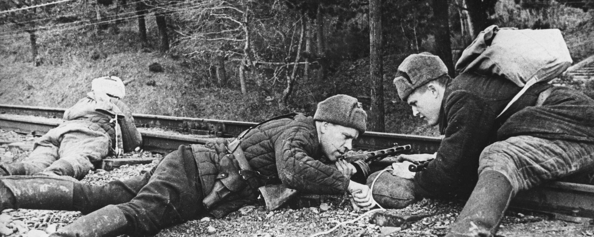 Partyzanci na Krymie, II wojna światowa - Sputnik Polska, 1920, 30.06.2021