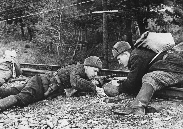 Partyzanci na Krymie, II wojna światowa