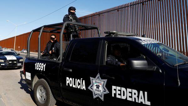 Federalna policja Meksyku - Sputnik Polska