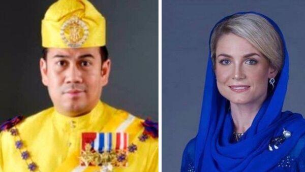 Tengku Muhammad Faiz Petra i Sofie Louise Johansson - Sputnik Polska