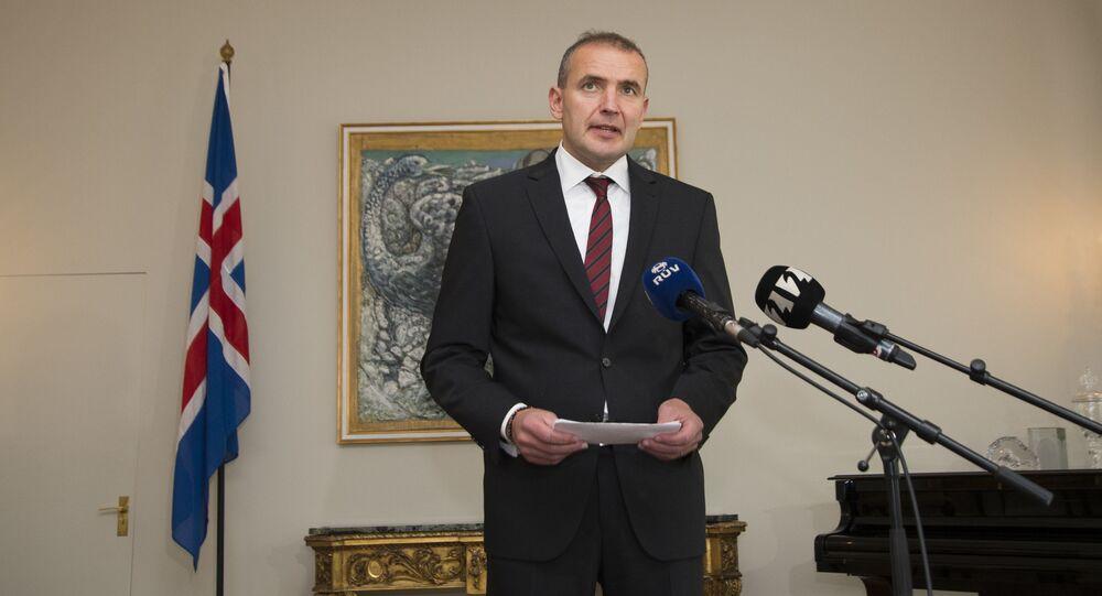 Prezydent Islandii Guðni Johannesson